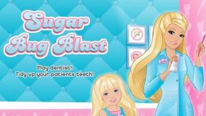 Joc 'doctor Barbie salveaza dintisorii'